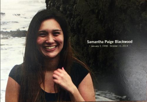 Samantha Blackwood